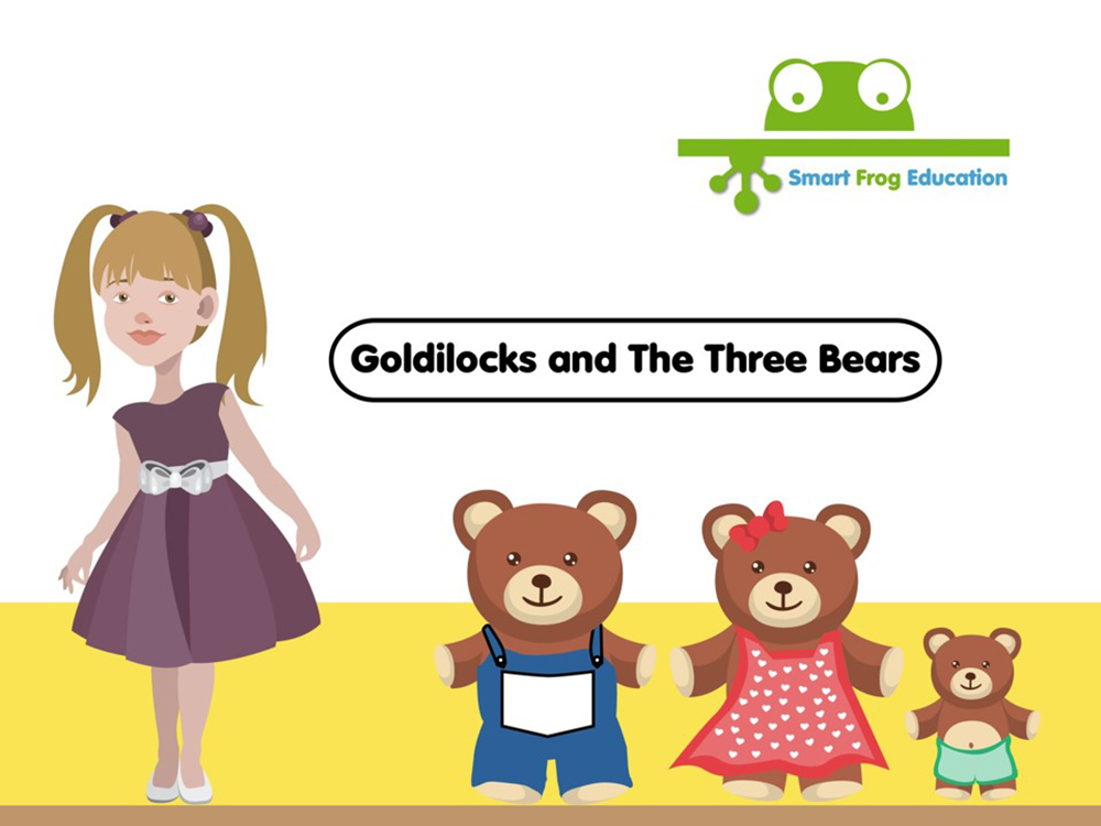 Goldilocks And The Three Bears Smart Frog
