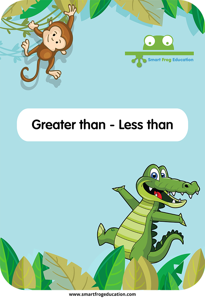 Greater Than Less Than Smart Frog